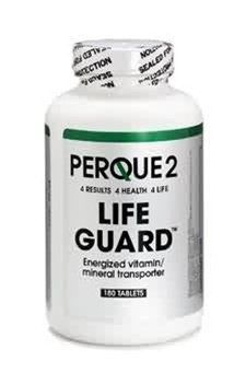 life-guard-180-tablets-by-perque by Perque. $80.00. PERQUE2 Life Guard 180 Tablets by Perque. PERQUE2 Life Guard is a unique, comprehensive, 40-essential nutrient formula that provides you four products in one:Super potency B complex plus (14 vitamins)Minerals (10 fully available elemental forms)Mixed vitamins E, selenomethionine, and tocotrienols (enough to lower cardiovascular risk by 60%)*Cell alkalinizers and energizers (16 for complete effect)PERQUE2 Life Guard provides:P...