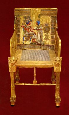King Tut throne OUR PROPERTY STOLEN BY THE EYGPTIAN GOVERNMENT since 1922