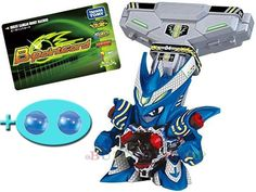 JAPAN TAKARA TOMY CROSS FIGHT B-DAMAN CB-04 ACCELE DRACYAN DX SET+ Extra 2 Balls #TakaraTomy