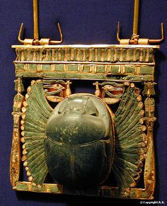 Ancient Egyptian Jewellery — Pectoral from the tomb of Undjebaw-en-djed. Ancient Egypt Civilization, Ancient Egypt History, Ancient Artifacts, History Of Wine, Ancient Egyptian Jewelry, Long Pearl Necklaces, South Indian Jewellery, Sea Glass Jewelry, Ancient Egypt