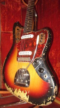 #1962 #Fender #Jaguar Sunburst > Guitars : Electric Solid Body - Rivington Guitars | Gbase.com