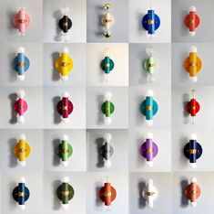 Beautiful and colorful small wall sconce or flush mount ceiling fixture for bedrooms, bathrooms, small spaces, and more.