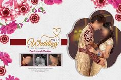Wedding And Engagement DM Design PSD Pages with high resolution quality & completely ready for creating a wedding or engagement photo album designing.