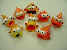ABC School Art: Clay Fish - (2nd)