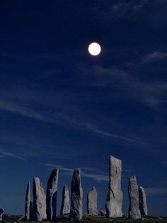 The Standing Stones of Callanish in Scotland on the Isle of Lewis - UK...amazing destination