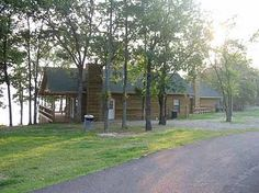 Hugo Lake State Park offers cabins, a hospitality house and campgrounds in addition to all types of outdoor and water recreation.
