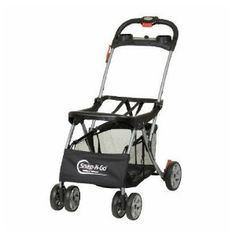 Baby Trend Snap-N-Go Universal Infant Car Seat Carrier is a great stroller to keep in the car. Just drop the carseat in and you are on your way. Not so great for rough terrain, grass, etc. For that I use our Peg Perego