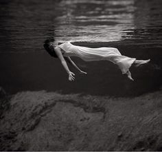 Lady in the water 1947 by Toni Frissell