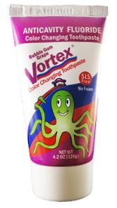 Vortex Children's Color Changing Toothpaste Review