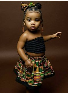 Our babies don't have to be mixed with anything to be beautiful. Black Baby Girl Hairstyles, Toddler Braided Hairstyles, Toddler Braids, Girls Natural Hairstyles, Braids For Kids, Natural Hair Styles, Kid Hairstyles, Black Baby Girls, Cute Black Babies