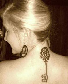 My key tattoo