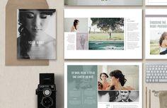 Photographer Magazine Template @creativework247