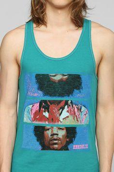 Junk Food Jimi Hendrix Tank Top