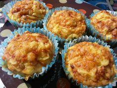 Vegspiration - Blog de inspiración vegana: Receta vegetariana: Muffins de queso, tomates secos y albahaca