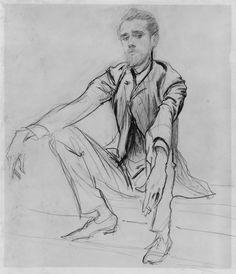 John Singer Sargent - Paul C. Helleu - 1880 - dessin x cm. - The Metropolitan Museum of Art, New York. Life Drawing, Drawing Sketches, Sketching, Person Drawing, Eye Drawings, Drawing Tips, Sargent Art, You Draw, Portraits