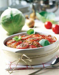 Tomaattinen kaalilaatikko | k-ruoka