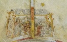 Garmerwolde - restauratie schilderingen op 1-6-2013