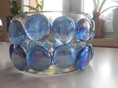 #DIY gemstone glass beauty/ flower #holder