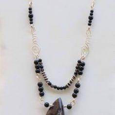 Orthoceras, Sterling Silver Necklace