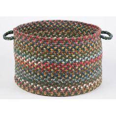 Wildon Home  Brena  Basket Color: Emerald