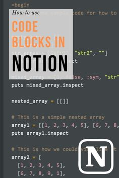 Write code and looking to store your code in Notion? Awesome! This tutorial will teach you all you need to know on how to use code blocks in Notion to store your code snippets. Screenshots of every steps in the process are included so you can't go off-course. #notion #productivity Productivity In The Workplace, Productivity Apps, Personal Development Skills, Knowledge Worker, Aim In Life, Engineering Careers, Entrepreneur, Data Structures