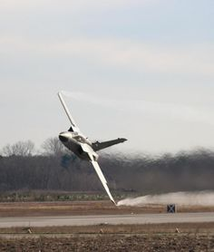 Low pass of a Panavia Tornado GR4