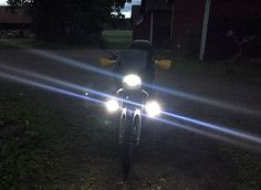 How I styled my Honda Transalp with Plasti Dip and LED lights Honda, Style Me, Led, Lights, Mini, Photos, Pictures, Lighting, Lamps