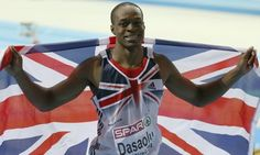 Great Britain's James Dasaolu, who will be competing at the Glasgow International Match on Saturday. Photograph: Dave Thompson/PA