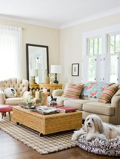 One of my favorite living rooms