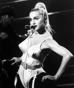 Madonna & Jean Paul Gaultier look