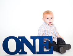 ONE Sign Baby Photo Prop for 1st Birthday  ONE by ZCreateDesign
