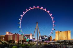 Take a spin on the worlds tallest observation wheel, the High Roller Las Vegas. Included on Go Las Vegas Card. Las Vegas Airport, Las Vegas City, Las Vegas Blvd, Las Vegas Nevada, Las Vegas Attractions, Vegas Activities, Las Vegas Valley, Visit Las Vegas, Caribbean