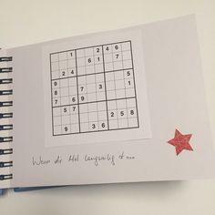 Wenn Buch Idee - Sudoku: Wenn dir Mal langweilig ist