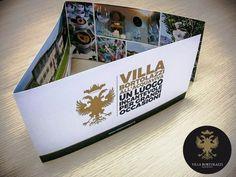 #VillaBortolazzi presentazione brochure Brochure, Villa, Polaroid Film, Fork, Villas