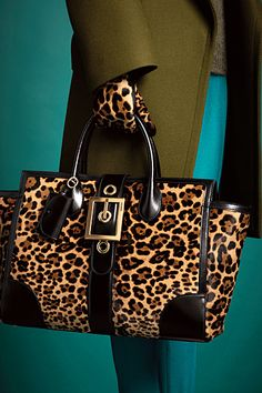 gucci pre-fall2013 - animal print in style for fall 2013