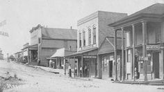 Downtown Helena, Alabama, late1800's