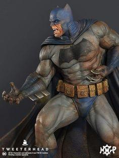 """Pre-Sale for our """" Dark Knight """" Batman Maquettes starts this Thursday morning. Dc Comics Art, Marvel Dc Comics, Anime Comics, Batman Dark, Batman The Dark Knight, Comic Books Art, Comic Art, Gotham City, Batman Suit"""
