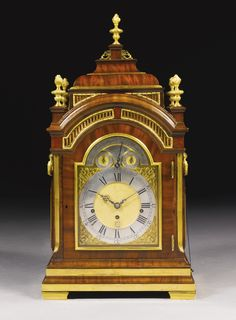 A gilt-mounted mahogany musical table clock, John Ellicott, London, circa 1770 | Lot | Sotheby's