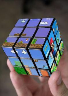 Super Mario Bros Rubik's Cube #Geek
