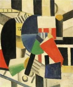 'Women with Mirror' by Fernand Leger // 1920, Cubism