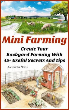 Mini Farming: Create Your Backyard Farming With 45 Useful Secrets And Tips: (U. - Edible Gardening - Mini Farming: Create Your Backyard Farming With 45 Useful Secrets And Tips: (Urban Gardening, Gro - The Farm, Mini Farm, Small Farm, Permaculture Design, Organic Gardening, Gardening Tips, Urban Gardening, Gardening Courses, Vegetable Gardening