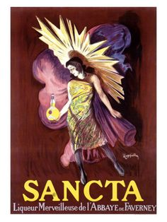 Sancta (Wonderful Liquor) by Leonetto Cappiello