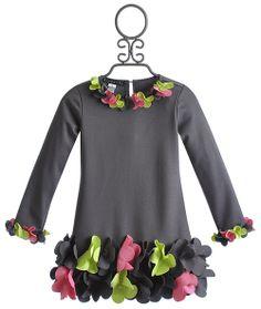 Biscotti Urban Garden Casual Girls Dress with Flowers $74.00