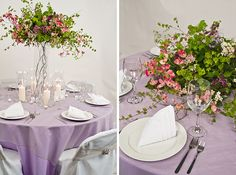 New Wedding Inspiration Video: Lavender and Silver Spring Theme!
