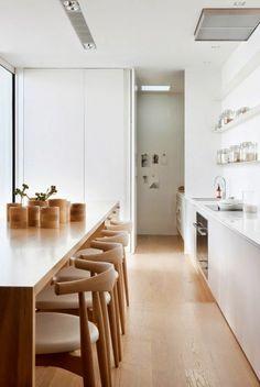 küche design holzmöbel weiße einrichtung