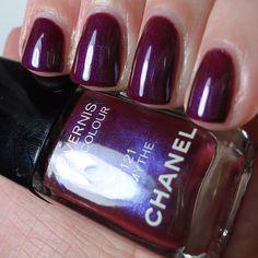 Chanel #121 Mythe - Swatched by Pretty Random