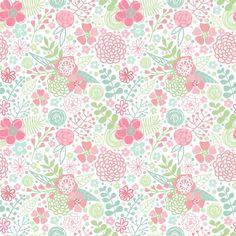 Papel de Parede (A) Floral 3002