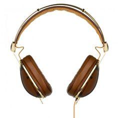 Skullcandy SKDY Aviator Headphones Brown/Gold