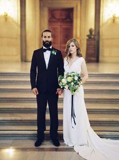 Fine Art Civil Wedding Inspiration   Lara Lam   Kyla Gold   Bridal Musings Wedding Blog