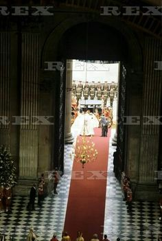 Wedding of Prince Charles and Lady Diana Spencer, London, Britain - 29 Jul 1981 Lady Diana Spencer arriving at St Paul Cathedral 29 Jul 1981